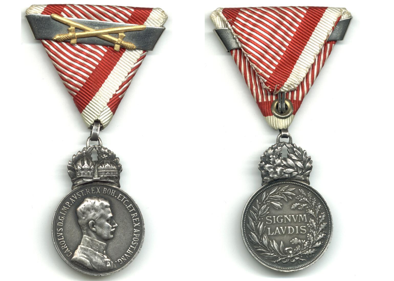 Recently Sold Items Listing WWI Austria Carol Mil  Merit